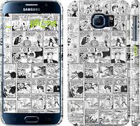 "Чехол на Samsung Galaxy S6 G920 Комикс ""1229c-80"""