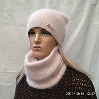Комплект Найла  с ЛЮРЕКСОМ с баффом  ODYSSEY 44711 крем-брюле
