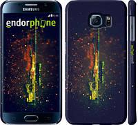 "Чехол на Samsung Galaxy S6 G920 Снайперская винтовка ""2817c-80"""
