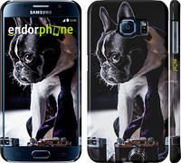 "Чехол на Samsung Galaxy S6 G920 Бульдог-фотограф ""142c-80"""