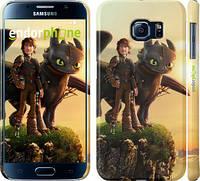 """Чехол на Samsung Galaxy S6 G920 Как приручить дракона 2 """"2639c-80"""""""