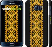 "Чехол на Samsung Galaxy S6 G920 Вышиванка 31 ""600c-80"""