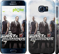 "Чехол на Samsung Galaxy S6 G920 Форсаж 7 ""2602c-80"""