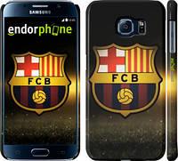 "Чехол на Samsung Galaxy S6 G920 ФК Барселона ""2299c-80"""