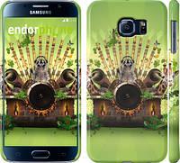 "Чехол на Samsung Galaxy S6 G920 Диджей-Енот ""184c-80"""