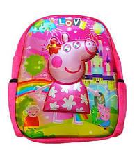 Рюкзак детский Свинка 3D 32*28 см