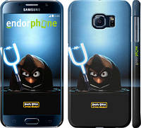 "Чехол на Samsung Galaxy S6 G920 Angry birds. Star wars ""545c-80"""