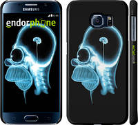 "Чехол на Samsung Galaxy S6 G920 Гомер. Томография ""652c-80"""