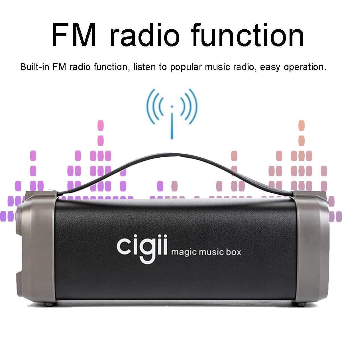 Мобильная Колонка SPS CIGII F52 Bluetooth