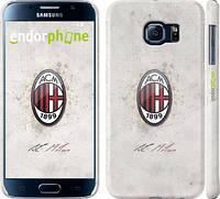 "Чехол на Samsung Galaxy S6 G920 Милан 1 ""315c-80"""