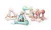 Развивающая пирамида BabyOno Розовая, фото 4