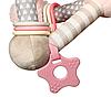Развивающая пирамида BabyOno Розовая, фото 3