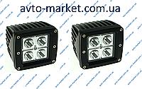 Комплект светодиодных фар WL-102 12W SP (возможность установки как ДХО или противотуманных фар)