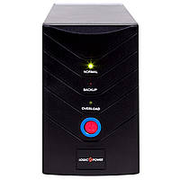 ИБП LogicPower LP-1400VA, Lin.int., AVR, 2 x евро, металл