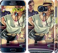 "Чехол на Samsung Galaxy S6 G920 GTA 5. Girl 2 ""951c-80"""