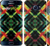 "Чехол на Samsung Galaxy S6 G920 Шеврон v7 ""1130c-80"""
