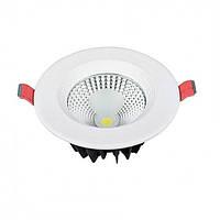 """Светодиодный светильник LED """"VANESSA-10"""" Horoz 10W (6400K)"""