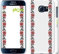"Чехол на Samsung Galaxy S6 G920 Вышиванка 1 ""565c-80"""