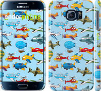 "Чехол на Samsung Galaxy S6 G920 Воздушная техника ""1003c-80"""