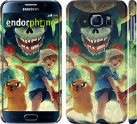 "Чехол на Samsung Galaxy S6 G920 Adventure Time. Mushroom War ""2446c-80"""