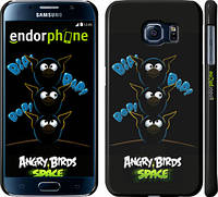"Чехол на Samsung Galaxy S6 G920 Angry birds. Space. Bip, Bop, Bap. ""539c-80"""