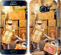 "Чехол на Samsung Galaxy S6 G920 Семейка монстров v2 ""2607c-80"""