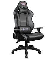 Геймерское кресло VR Racer Expert Master черный, TM AMF