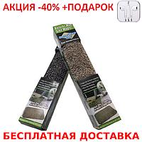 Absorbs Mud Like Magic Clean супервпитывающий  коврик антигрязь для дома и офиса + наушники iPhone 3.5