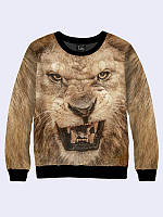 Свитшот Морда льва