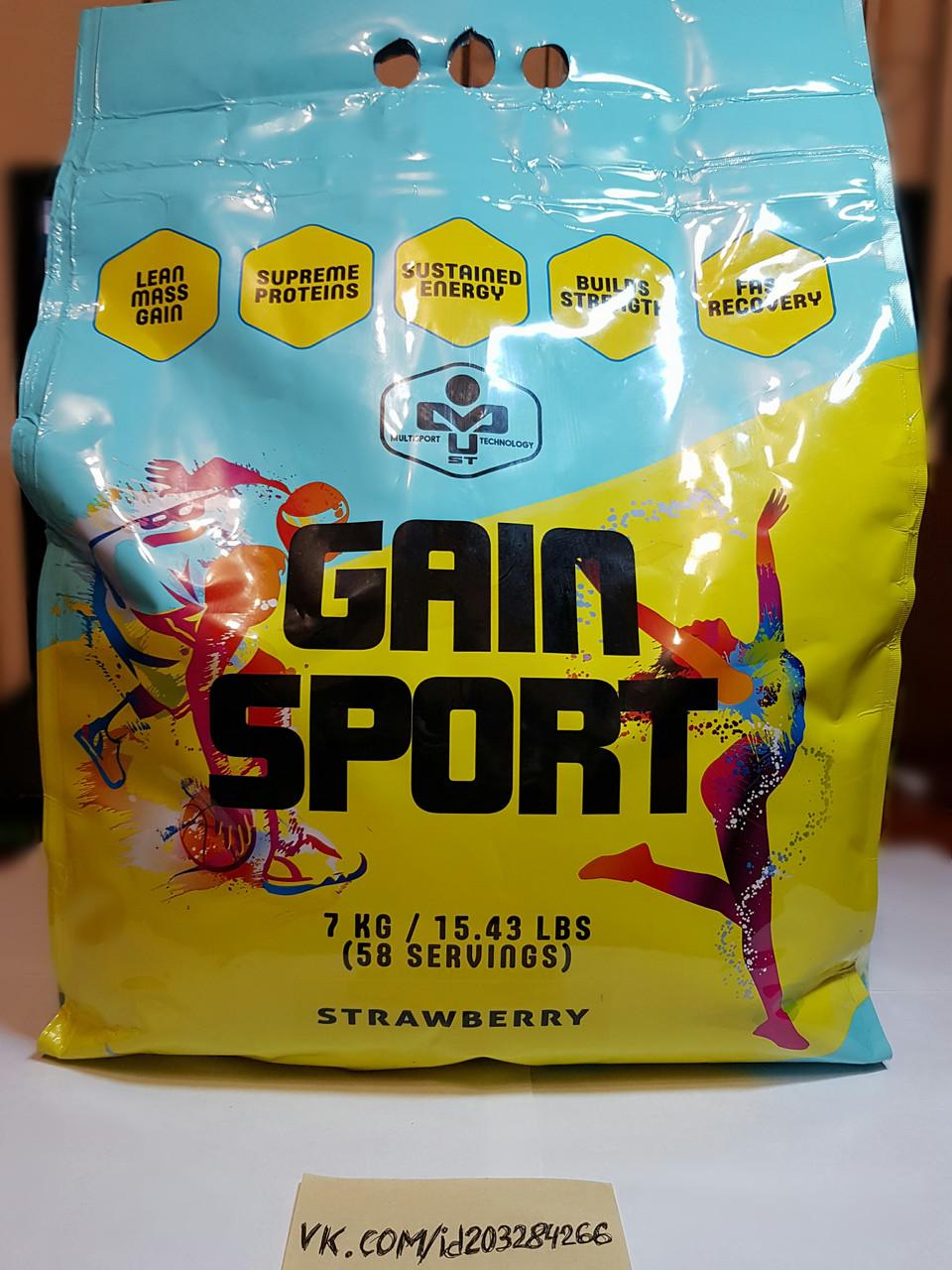 Гейнер MUST Gain Sport 7000g