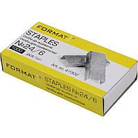 Скобы для степлера №24/6 Format 1000 шт