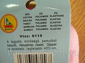 Носочки на дівчаток оптом , Угорщина, Ruifa 23-36р, фото 3