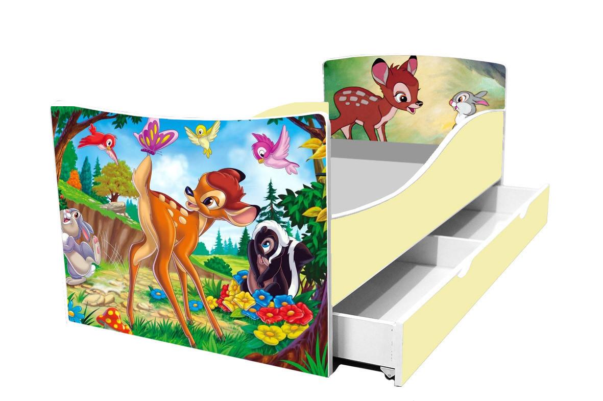 Детская кровать олененок
