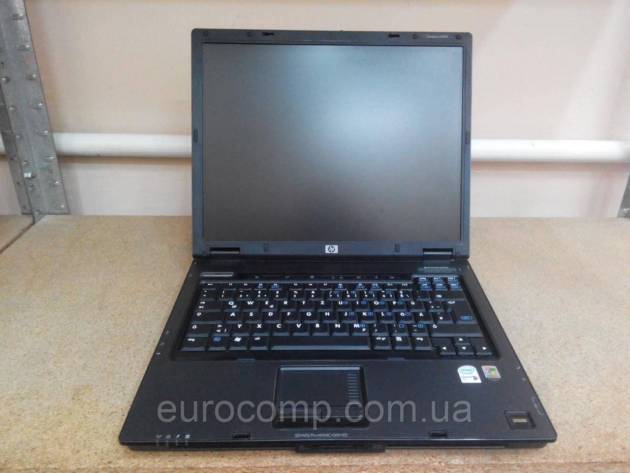 Недорогой ноутбук бизнес серии для офиса, дома и учебы HP Compaq nc6320 15''