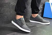 Мужские кроссовки / кеды в стиле Lacoste, текстиль, серые 43 (27,7 см)