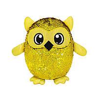 М'яка іграшка з паєтками SHIMMEEZ S3 - СОВА Оклі (20 cm)