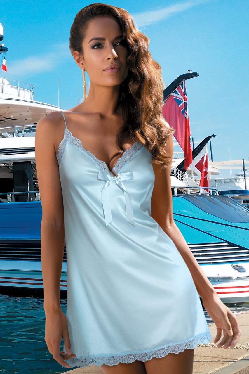 50846171c1cf47a Атласная ночная сорочка Kinga D'AZUR (S, XL) 549 грн. Другие ...