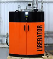 Инновационный пеллетный котёл LIBERATOR CLASSIC 30 кВт на электронном управлении, с горелкой и бункером