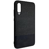 Чехол-накладка DK Silicone Form Fabric Cotton для Xiaomi Mi 9 Lite (Mi CC9) (black)