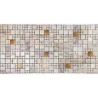 Панели ПВХ Grace Мозаика Мрамор с золотом 955*480 мм