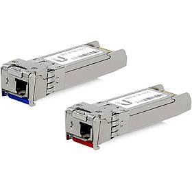 Пара оптических модулей UBNT, Single-Mode Module, 10G, BiDi 2-Pack (UF-SM-10G-S)