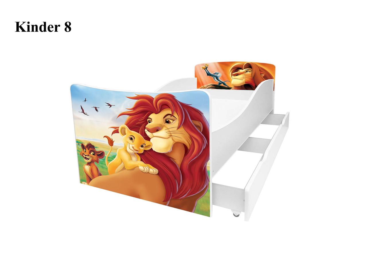 Детская кровать Король Лев симба пумба