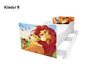Детская кровать Король Лев симба пумба, фото 1