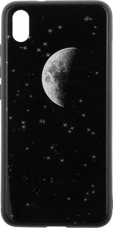 Чехол-накладка TOTO Cartoon Print Glass Case Xiaomi Redmi 7A Starry Sky #I/S