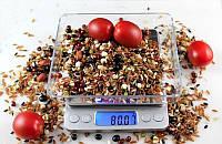 Ювелирные электронные весы с 2мя чашами 0,01-500гр 1729B УЦЕНКА(190708)