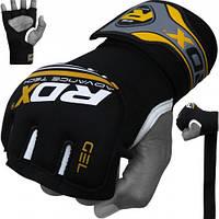 Бинт-перчатка RDX Neopren Gel Yellow , фото 1