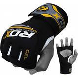 Бинт-перчатка RDX Neopren Gel Yellow , фото 4