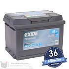 Аккумулятор автомобильный EXIDE Premium 6CT 61Ah, пусковой ток 600А [–|+] (EA612), фото 3