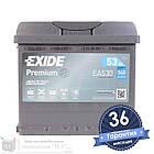 Аккумулятор автомобильный EXIDE Premium 6CT 53Ah, пусковой ток 540А [–|+] (EA530), фото 2