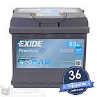 Аккумулятор автомобильный EXIDE Premium 6CT 53Ah, пусковой ток 540А [–|+] (EA530), фото 4
